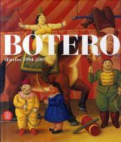 Botero ; oeuvres, 1994-2007 - Intérieur - Format classique