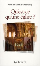Qu'est-ce qu'une église ? - Couverture - Format classique