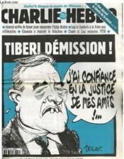 Charlie Hebdo N°208 - Tiberi Demission !