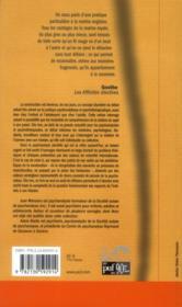 La construction en psychanalyse - 4ème de couverture - Format classique