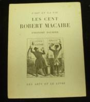 Les Cent Robert Macaire d'Honoré Daumier. - Couverture - Format classique
