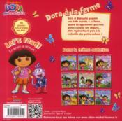 Dora à la ferme - 4ème de couverture - Format classique