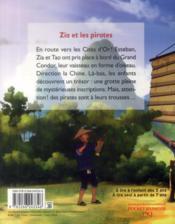 Les mystérieuses cités d'or saison 2 t.2 ; Zia et les pirates - 4ème de couverture - Format classique