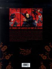 L'ombre des Shinobis T.1 ; premier rouleau - 4ème de couverture - Format classique