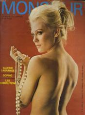 MONSIEUR, la revue de l'homme a la page N°5 - VALERIE LAGRANGE - DOPING - LES KIBBOUTZIM - Couverture - Format classique