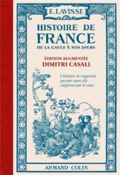Histoire de France ; de la Gaule à nos jours - Couverture - Format classique