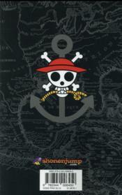 One Piece - édition originale T.73 ; l'opération Dressrosa S.O.P. - 4ème de couverture - Format classique