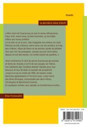 La dernière reine d'Ayiti - 4ème de couverture - Format classique