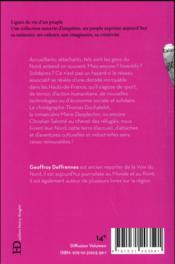 Gens du Nord - 4ème de couverture - Format classique