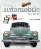 L'aventure automobile en France - Couverture - Format classique
