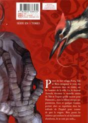 Shinotori ; les ailes de la mort T.2 - 4ème de couverture - Format classique
