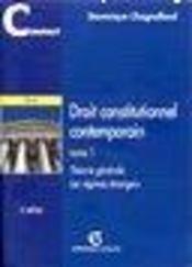 Droit constitutionnel contemporain - Intérieur - Format classique