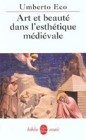Art et beauté dans l'esthétique médiévale - Intérieur - Format classique