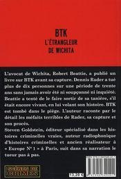 BTK, l'étrangleur de Wichita - 4ème de couverture - Format classique