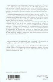 Le sens de l'histoire ; moments d'une biographie ; edition 2001 - 4ème de couverture - Format classique