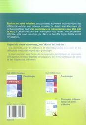 Reussir Son Eval En... ; Soins Infirmiers Aux Personnes Atteintes D'Affections Cardiovasculaires - 4ème de couverture - Format classique