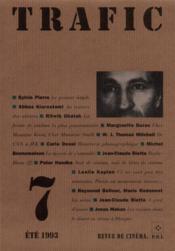Revue Trafic N.7 - Couverture - Format classique