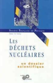 Les déchets nucleaires - Couverture - Format classique
