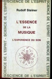 Essence de la musique - Couverture - Format classique