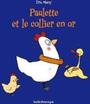 Paulette et le collier en or - Couverture - Format classique