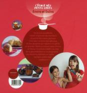 Cuisine des bonbons et autres douceurs sucrées - 4ème de couverture - Format classique