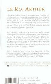 Le Roi Arthur - 4ème de couverture - Format classique