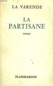 La Partisane. - Couverture - Format classique