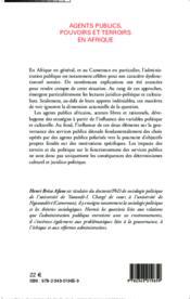 Agents publics, pouvoirs et terroirs en Afrique - Couverture - Format classique