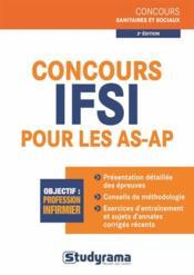 Concours IFSI pour les AS-AP (2e édition) - Couverture - Format classique