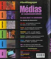 Medias Et Communication - 4ème de couverture - Format classique