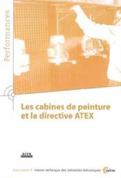 Les cabines de peinture et la directive atex performances 9q36 - Couverture - Format classique