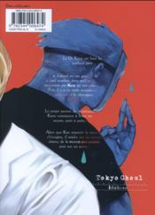 Tokyo ghoul T.10 - 4ème de couverture - Format classique