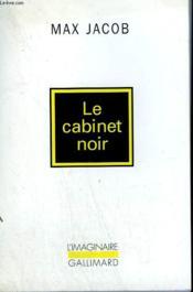 Le cabinet noir - lettres avec commentaires - Couverture - Format classique