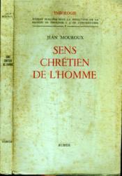 Sens Chretien De L'Homme - Couverture - Format classique