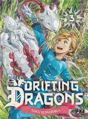 Drifting dragons T.3 - Couverture - Format classique