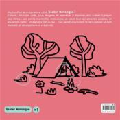 Atelier montagne n.1 ; 50 pages de dessins, coloriages, jeux et autocollants - 4ème de couverture - Format classique