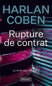 Rupture de contrat - Couverture - Format classique