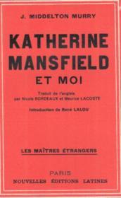 Katerine Mansfield et moi - Couverture - Format classique