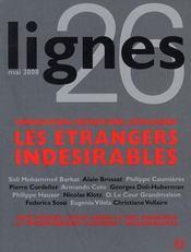 Revue Lignes N.26 ; Droit De L'Immigration, Centres De Rétention, Identité Nationale - Intérieur - Format classique