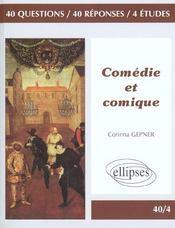 Comedie Et Comique - Intérieur - Format classique