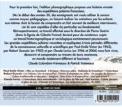 Les expéditions polaires françaises ; coffret - 4ème de couverture - Format classique