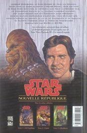 Star Wars - nouvelle république t.3 ; Chewbacca - 4ème de couverture - Format classique