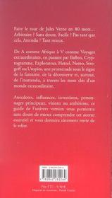 Le tour de jules verne en 80 mots - 4ème de couverture - Format classique