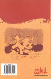 Unico la petite licorne t.1 - 4ème de couverture - Format classique