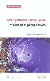 Changements climatiques : impasses et perspectives - Intérieur - Format classique
