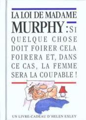 La loi de madame murphy - Couverture - Format classique
