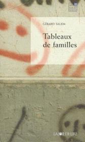 Tableaux de familles - Couverture - Format classique
