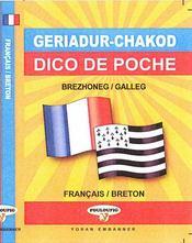 Dico de poche brezhoneg-galleg / français-breton - Intérieur - Format classique