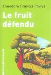 Le Fruit Defendu - Intérieur - Format classique