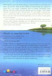 Manolis De Vourla - 4ème de couverture - Format classique